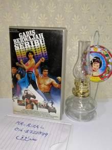 GADIS BERWAJAH SERIBU VHS Film Movie Video Tape