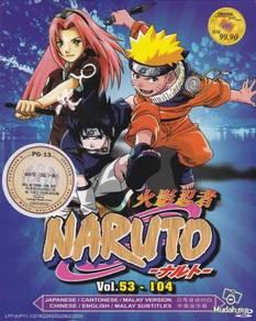 DVD ANIME NARUTO SHIPPUDEN Vol.53-104 Box Set