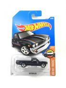 Hotwheels HW Hot Trucks Datsun 620 #7 Matte Black