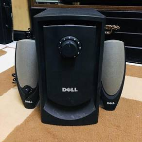 Dell speaker with subwoofer for laptop and hp