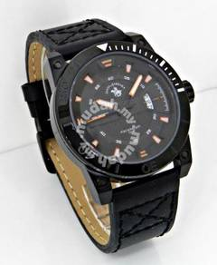 SBPRC Men Date Leather Watch SB373MBBI
