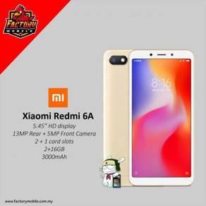 Xiaomi redmi 6A msia set + GIFT RM1000