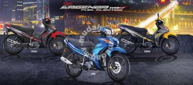 New yamaha legenda 115