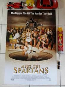 Poster MEET THE SPARTANS Limited Edition 2008