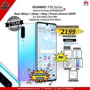 New Huawei p30 [8+128GB] FOC 8 item