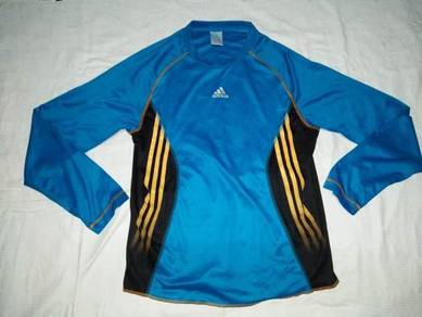 Adidas Climalite Blue Long Sleeve L (Kod AX4174)