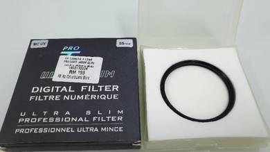 Filter lens MC UV & CPL 55MM for DSLR/Mirrorless c