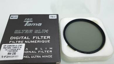 Filter lens MC UV & CPL 72MM for DSLR /Mirrorless