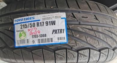 Tayar Baru TOYO TR1 215 50 17 Tyre New Year 2019