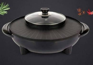 Bbq grill -steambot
