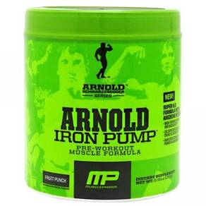 Arnold iron pump pre workout muscle formula