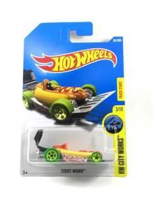 Hotwheels HW City Works Street Wiener #3 Yellow