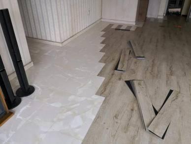 Vinyl Floor Lantai Timber Laminate PVC Floor q3