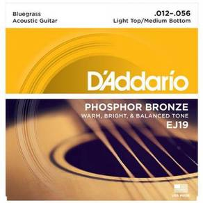 D'Addario EJ19 Phosphor Bronze Ac. Guitar Strings