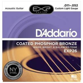 D'Addario EXP26 Coated Phosphor Bronze Acou.String