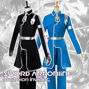SAO 3rd season Alicization Kirito cosplay costume