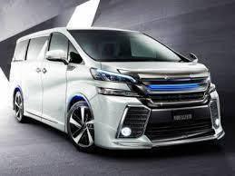 Toyota vellfire 30 modellista body kit bodykit set