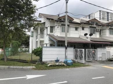 CORNER LOT, DOUBLE STOREY, FACING FIELD, Taman Puncak Saujana, Kajang