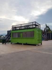 Custom Container Food Kiosk / Kedai Kontena