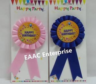 Happy Birthday Party Badge Party Decoration