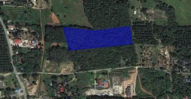 Tanah 3.4 Ekar Kampung Jenderam Hulu