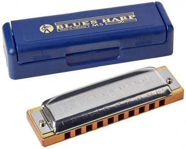 Blues Harp Harmonica (Key C)