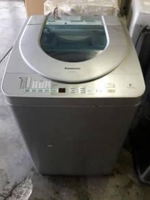 Washer Basuh Auto Panasonic 7kg Mesin Top Load