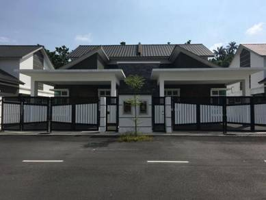 Single Storey Semi D Taman Peserai Jaya Batu Pahat 4R3B GATED GUARDED