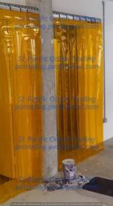 Insect repellent Soft PVC Strip curtain