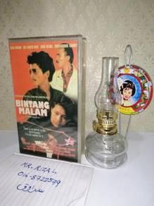 BINTANG MALAM VHS Film Movie Video Tape 1991