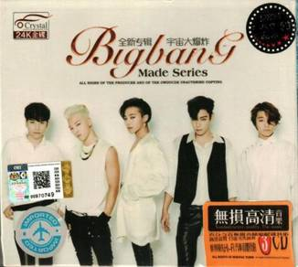 IMPORTED BigBang Made Series + Greatest Hits 3CD