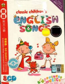 CD Classic Children's English Songs - age 3-6 (8CD