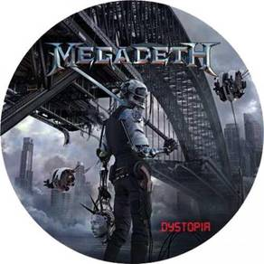 Megadeth Dystopia LP (Picture Disc)