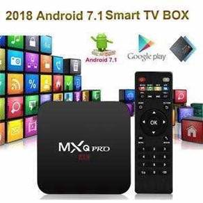 Mxq view 1g/8g Android latest box tv pro