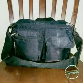 Cross Body Bag Nylon Unbrand