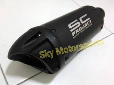 Ekzos Exhaust Muffler S C 51mm