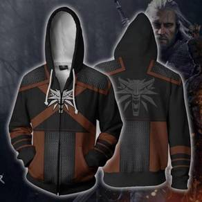Game witchers sweater hoodie long sleeve