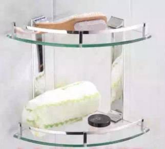 Bathroom glass rack 328 / shampoo holder
