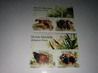 Setem Malaysia Haiwan Liar 2004