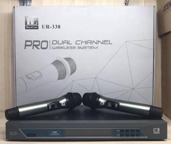 Blackline Ur338 Uhf Dual Wireless Mic