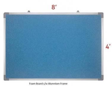 Foam Notice Board 4'x8'~ Siap Hantar & Pasang