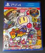 PS4 Game Super Bomberman R Shiny Edition