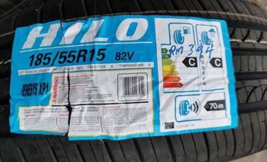 Tayar Baru HILO XP1 185 55 15 Tyre New Year 2020