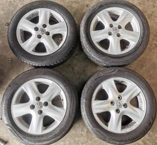 Sport Rim Used Tyre Tayar Toyota 15 Vios Myvi axia