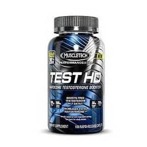 Muscletech test hd booster