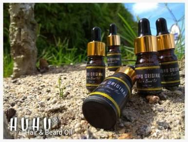 HUHU Hair & Beard Oil (Minyak Jambang dan Rambut)