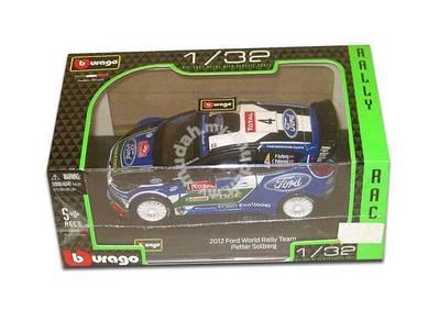 Burago Diecast model - 2012 ford world rally team