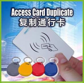 Access cards duplicate service