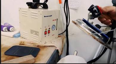 SILVERSTAR Steam Generator with Iron laundry dobi