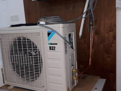 Air cond 2nd 1hp/1.5hp_siap pasang.